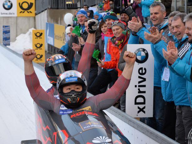 Závod v Königssee i celý seriál SP opanoval jihokorejský dvojbob