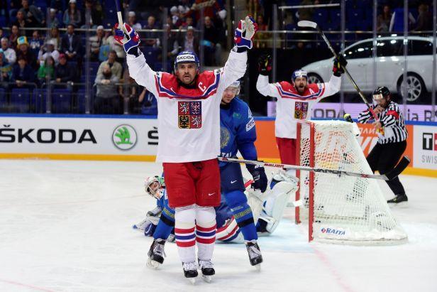 Pátý zápas, pátá výhra. Češi zdolali i Kazachstán a mají jisté čtvrtfinále