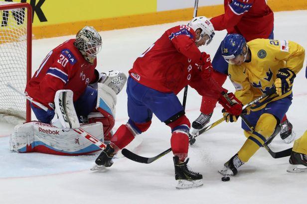 Norové favorita potrápili, Švédové uhájili výhru 3:2