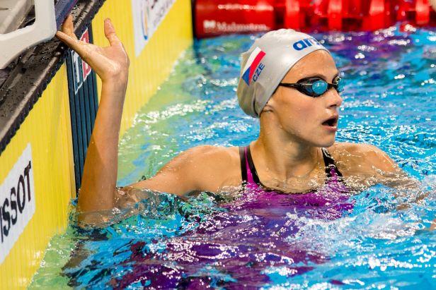 Plzeň viděla tři české rekordy plaveckých nadějí