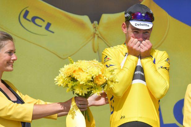Cavendish porazil na Utah Beach Kittela a patří mu žlutý dres
