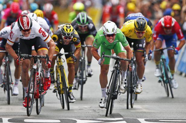 Cavendish předčil v Angers Greipela jen o několik centimetrů