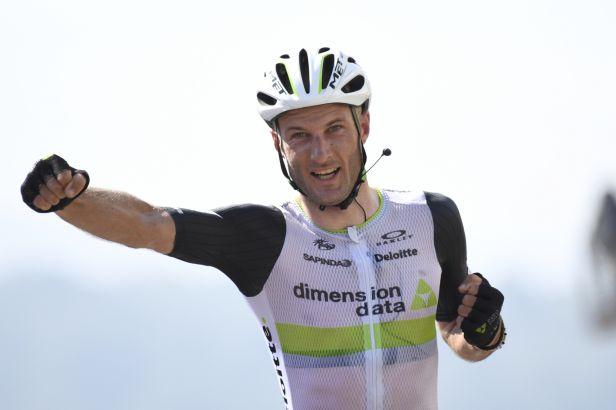 Cummings odrazil na Col d'Aspin Nibaliho a vyhrál pyrenejskou etapu