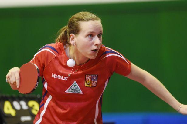 Ze hry už je v Olomouci i stolní tenistka Matelová
