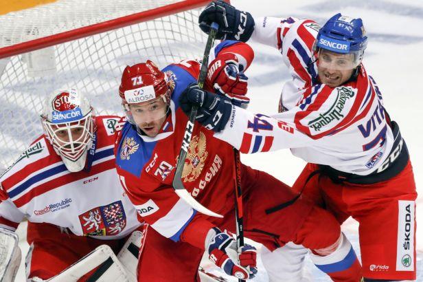 Češi na slavící sbornou nestačili, v Moskvě prohráli 1:5