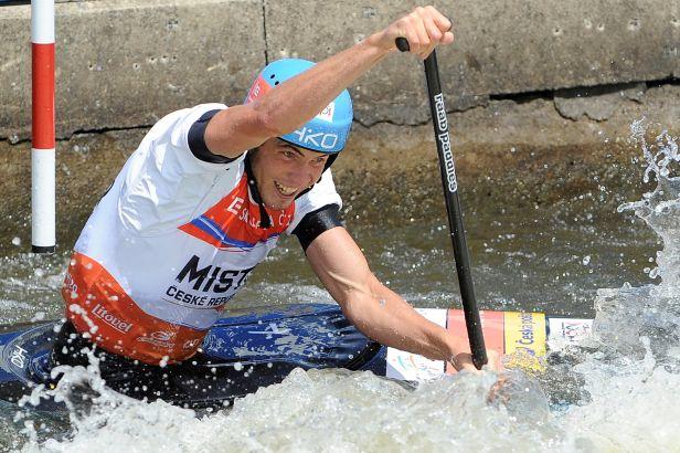 Kanoista Rohan skončil šestý na SP vodních slalomářů v Markkleebergu