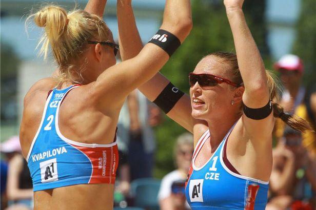 Kolocová s Kvapilovou na závěr skupiny padly, přesto jdou na ME přímo do osmifinále