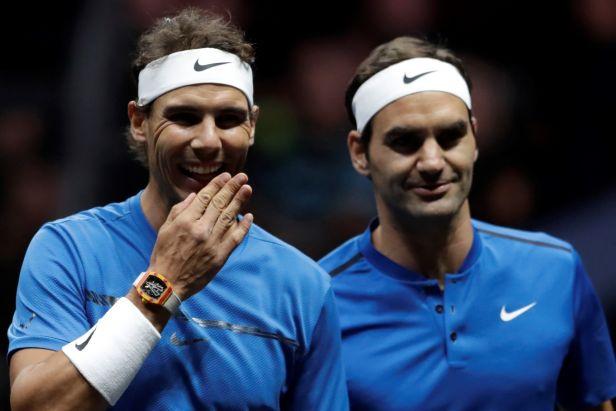Byl to unikátní moment, řekl Nadal po vítězné premiéře po boku Federera