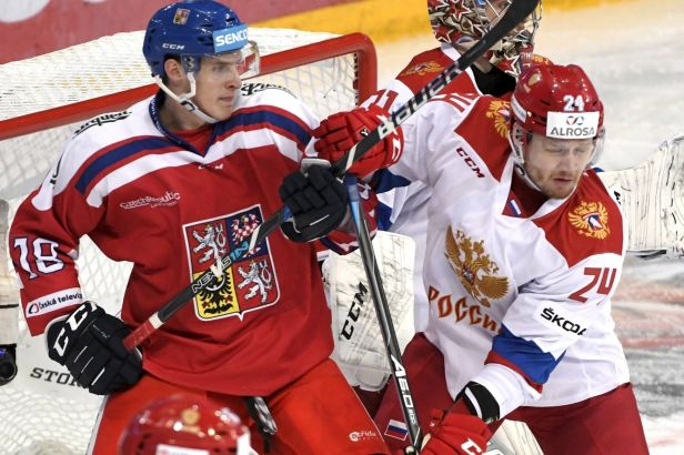 Grigorenko zhatil české naděje, na výhře Ruska 5:2 se podílel hattrickem