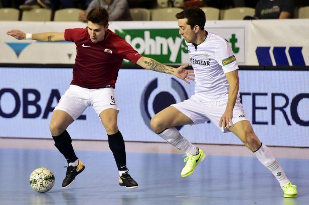 Futsalisté Chrudimi dvakrát vedli, ale Sparta dokázala vyrovnat