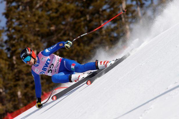 Měřený trénink v Kitzbühelu vyhrál Marsaglia z Itálie, Češi nestartovali
