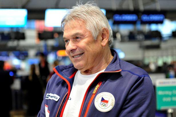 Trenéru Novákovi je sedmdesát, ale chce se Sáblíkovou na další ZOH