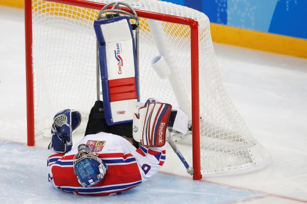 Čeští sledge hokejisté podlehli Norsku a na paralympiádě končí šestí