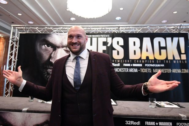 Fury hlásí návrat a v červnu má opět boxovat: Jsem lepší než dřív