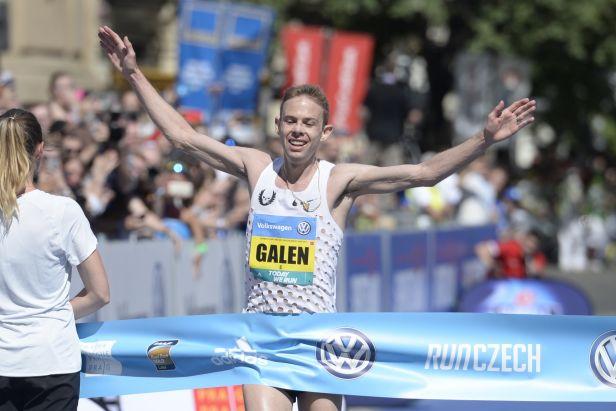 Rupp přerušil nadvládu etiopských a keňských běžců na Pražském maratonu