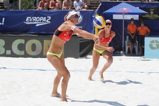 Sluková s Hermannovou mají v kapse domácí titul, teď chtějí zabojovat o olympiádu