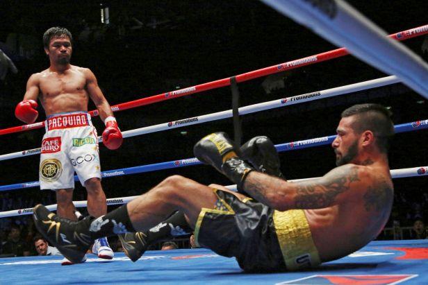 V devětatřiceti letech vybojoval boxer Pacquiao opět pás mistra světa
