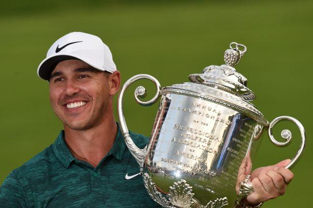 Koepka po velkém souboji s Woodsem triumfoval na PGA Championship