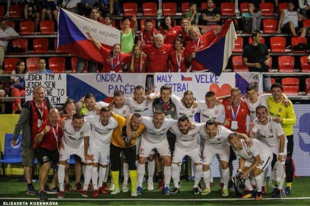 Češi vládnou malému fotbalu. Poprvé v historii vyhráli mistrovství Evropy