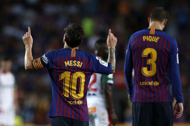 Messi zlomil kouzlo obrany Alavésu a dovedl Barcelony k vítěznému vstupu