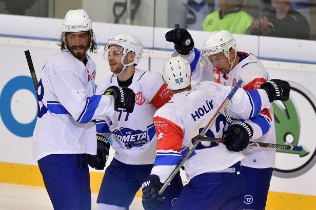 Kometa v osmifinále LM vyzve přemožitele Třince Tampere, Plzeň čeká Bolzano