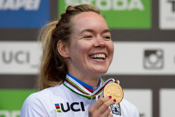 V cíli mi došlo, že to je pravda, zářila šťastná šampionka van der Breggenová