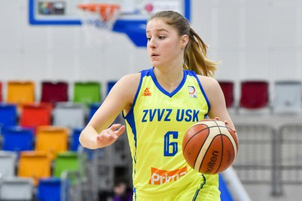 Basketbalistky USK a Králova Pole prošly nejkratší cestou do semifinále ligy