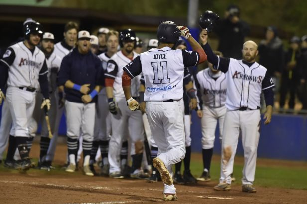 Baseballisté Ostravy si poradili s pražskými Eagles a obhájili extraligový titul