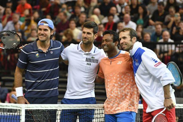 Štěpánek na rozloučenou porazil Djokoviče, gratulovali mu i Lendl, Federer a Nadal