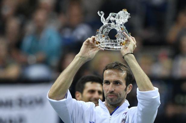 Rád bych u tenisu zůstal, řekl dojatý Štěpánek po rozlučce