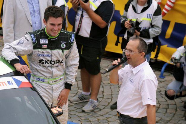 Jan Kopecký je mistrem světa v kategorii WRC2. Mám opravdu skvělou sezonu, raduje se jezdec
