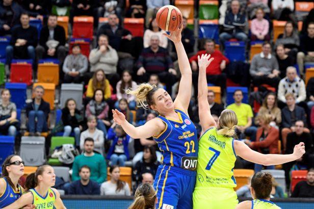 Basketbalistky USK belgické šampionky nešetřily, Nymburk vyhrál v Celje
