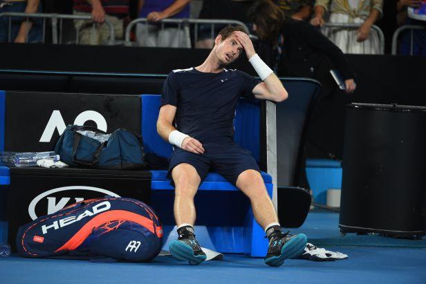 Murray se nevzdává, ale s rizikem je seznámen. Chci i nadále hrát tenis, řekl po Australian Open