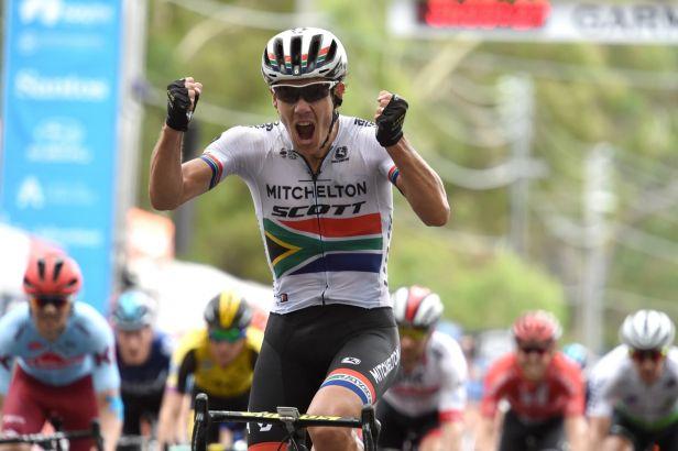 Impey byl v závěru nejrychlejší a vyhrál čtvrtou etapu Tour Down Under
