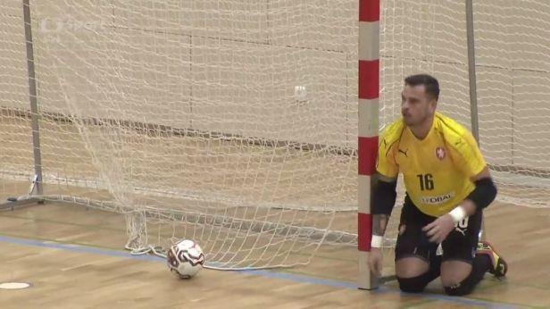 Futsalisté začali kvalifikaci pro mistrovství světa výhrou nad Slovinskem