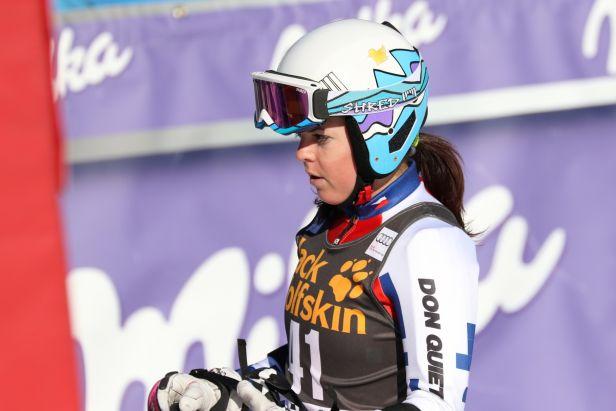 Na pokoji přijde peklo, ale tohle už nezažiju, řekla Pauláthová po obřím slalomu