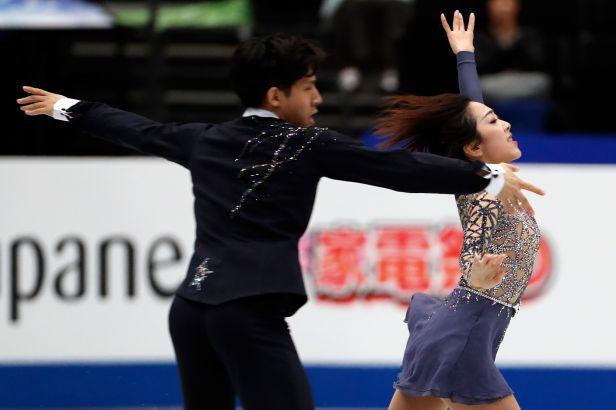 Ruské sportovní dvojice se musely sklonit před Číňany, Češi si polepšili