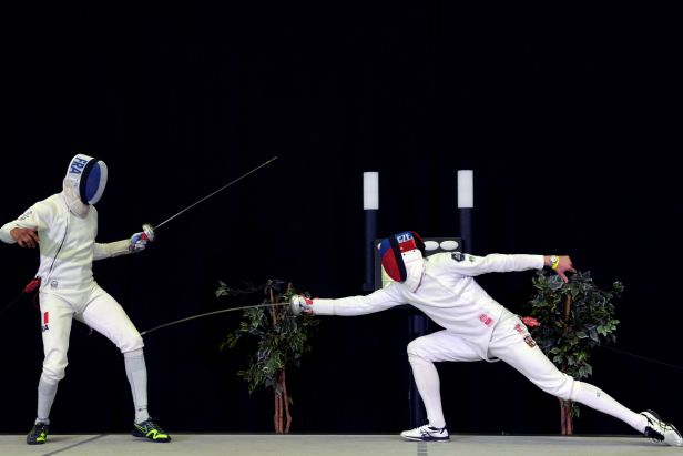 V Praze šermovaly hvězdy. Čapka porazil ve finále olympijský vítěz