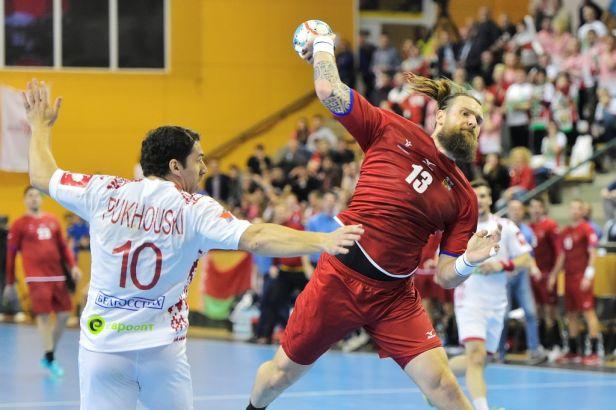 Čeští házenkáři důležitý kvalifikační zápas s Běloruskem prohráli o gól