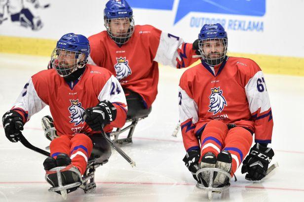 Češi zametli i s Itálií a vyhráli skupinu B, ve čtvrtfinále MS v parahokeji se střetnou s Norskem