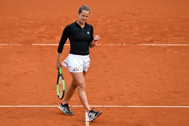 Strýcová porazila Siniakovou, v semifinále Prague Open je i Muchová