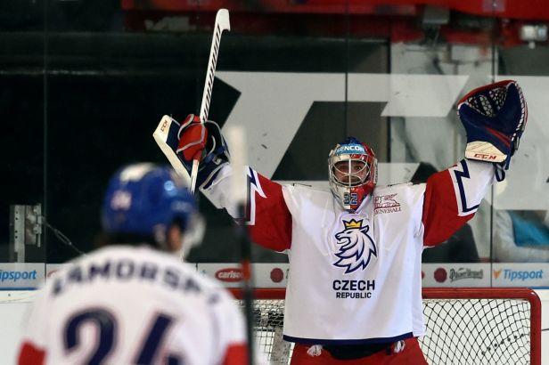 Bartošák po vítězství, nule a fotce s Lundqvistem: Jsem rád, že jsem si proti němu mohl zachytat