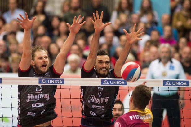 Volejbalovým mistrem se staly v posledním možném zápase Budějovice