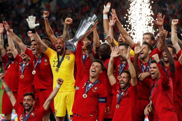 Vládci Evropy Portugalci po Euru vyhráli i Ligu národů. Proti neškodným Nizozemcům rozhodl Guedes