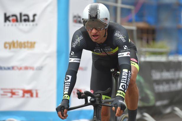 Bárta vstoupil do závodu Kolem Maďarska nejlépe, Belletti doplatil na únavu z Gira