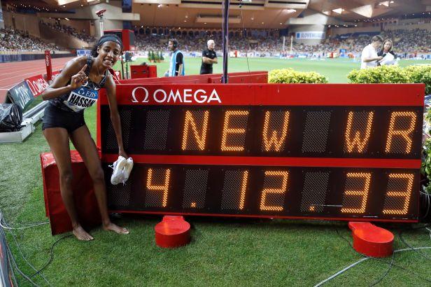 Hejnová doběhla v Monaku třetí, Hassanová posunula světový rekord na míli