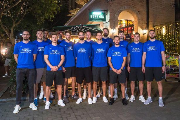 Na místě. Basketbalisté přistáli v dějišti šampionátu v Číně