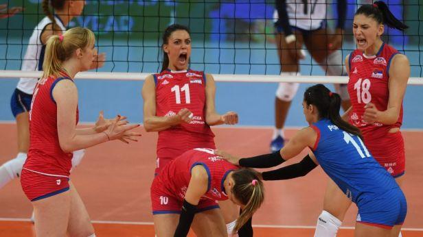 Zbývá krok. Srbským volejbalistkám může na ME překazit obhajobu jen Turecko