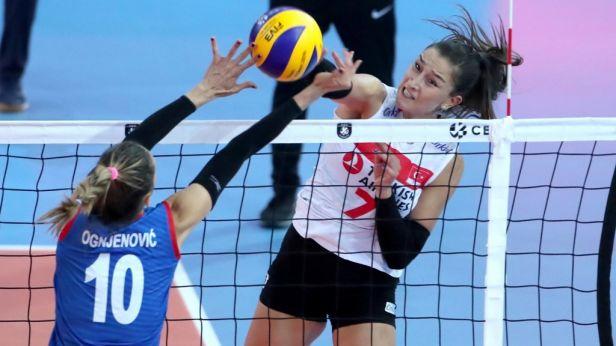 Evropskému volejbalu dál vládnou Srbky, Turecko porazily v pátém setu