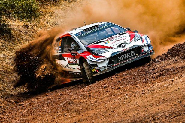 Boj o titul světového šampiona v rallye se zdramatizoval. Tänak v Turecku odstoupil